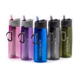 Image of LifeStraw Go bottles